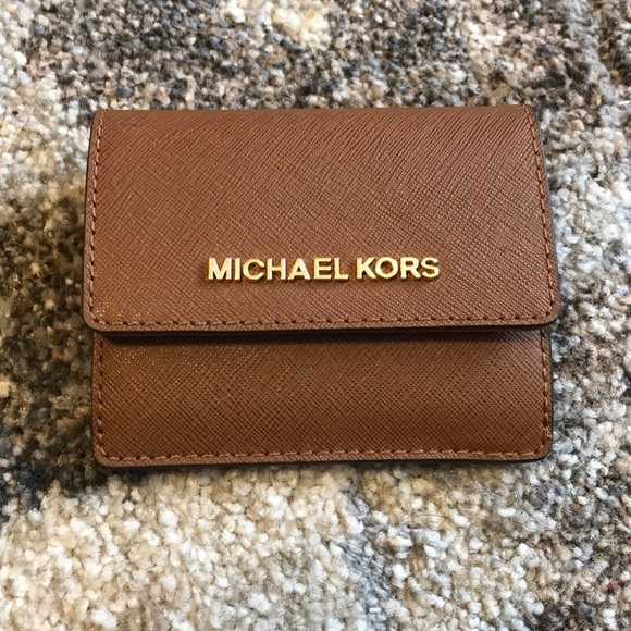 d15d0d129460cd Michael Kors Accessories | Brand New Mk Card Case Id Key Holder ...